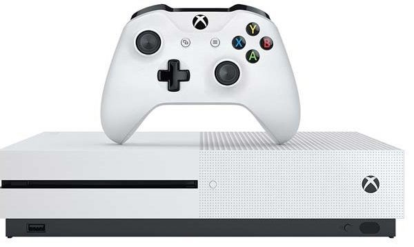 Microsoft Xbox One S 500 GB bílá