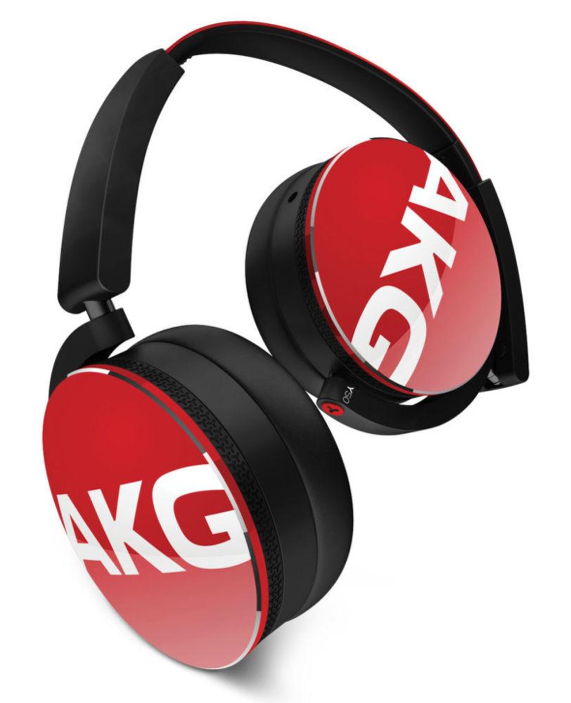 AKG Y50 (černo-červená)