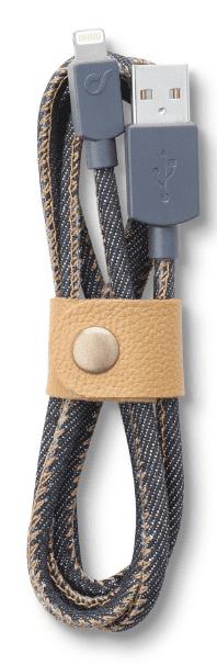Cellular Line LongLife lightning kabel (jeans)