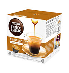 Nescafé Dolce Gusto Espresso Caramel (16ks)