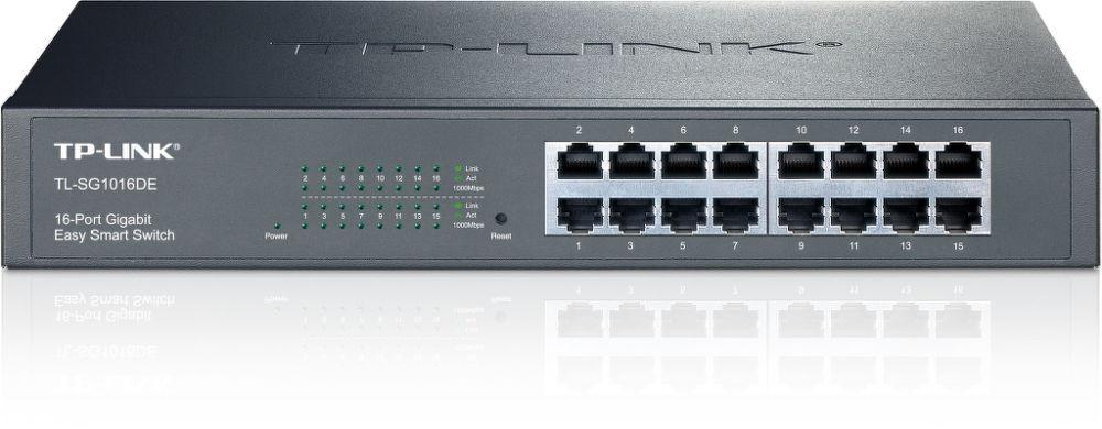 TP-LINK TL-SG1016DE 16-Port Gbit Switch