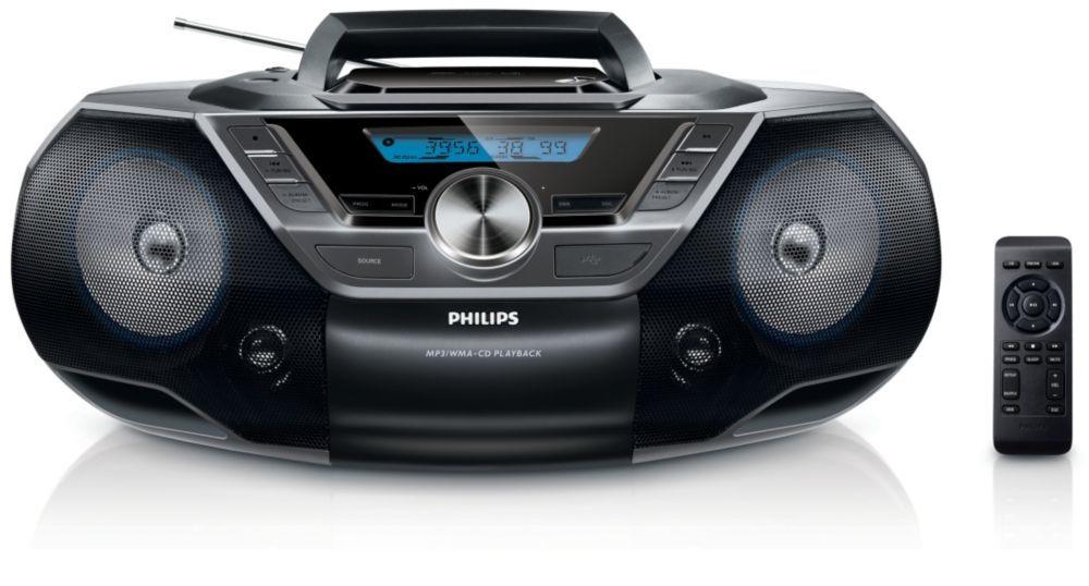 Philips AZ780 (černý)