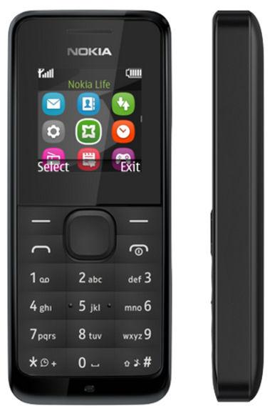 Nokia 105 (černý)