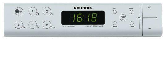 Grundig Sonoclock 690 (bilý)