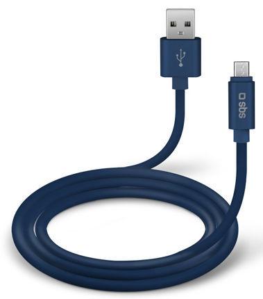 SBS USB-C kabel 1m, modrá