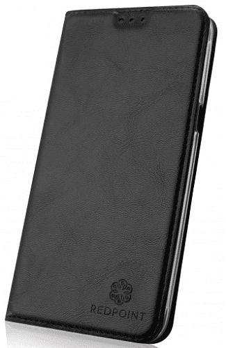 RedPoint Magnetic knížkové pouzdro pro Honor 9, černá