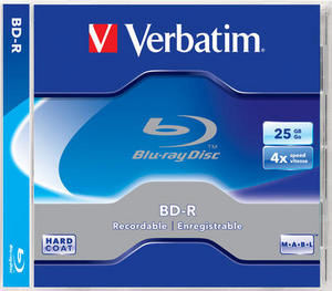 Verbatim Blu-Ray 25GB 4X JewellCase Printable