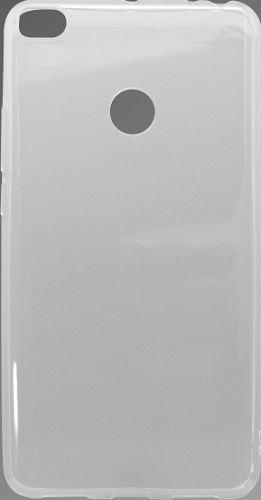 Mobilnet gumové pouzdro pro Xiaomi Mi Max 2, transparentní