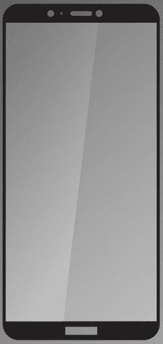 Q sklo tvrzené sklo pro Huawei P Smart, černé