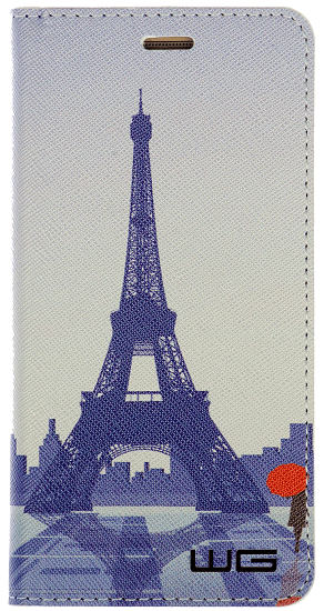 Winner knížkové pouzdro pro Huawei Y6 Prime 2018, Eiffel