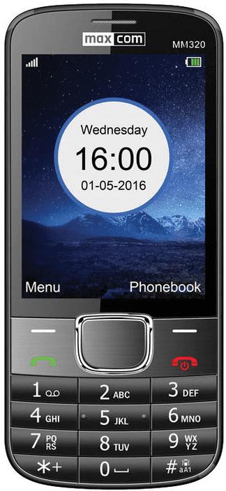Maxcom MM320 černý