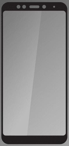 Qsklo sklo pro Xiaomi RedMi 5 Plus, černé