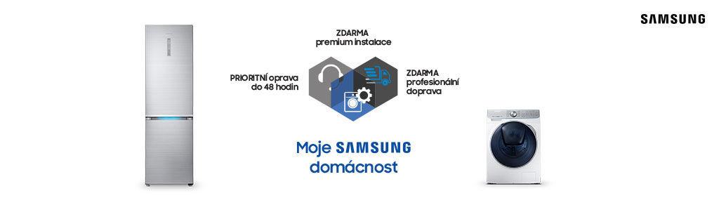 Prioritní servis a instalace na Samsung prémiové spotřebiče