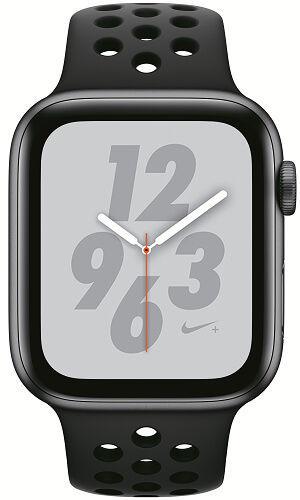 Apple Watch Series 4 Nike+ 44mm vesmírně šedý hliník/anatracitový/černý sportovní řemínek Nike