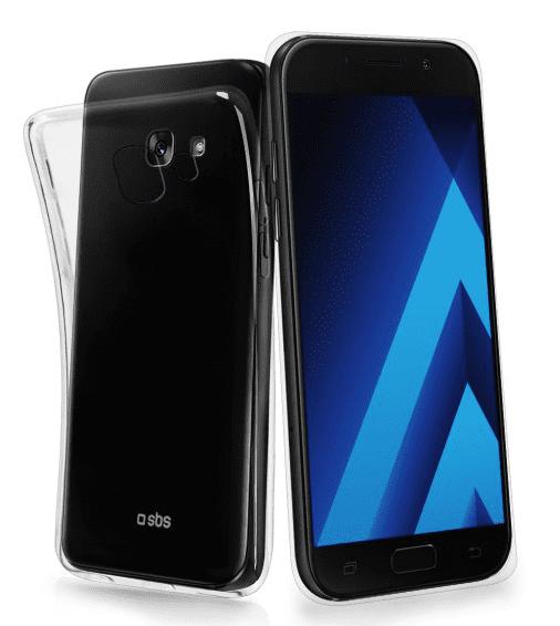 SBS Skinny pouzdro pro Samsung Galaxy A7 2017, transparentní
