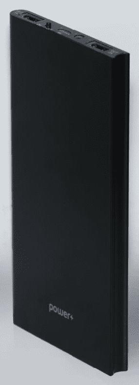 POWER+ Slim powerbanka 10000 mAh, černá