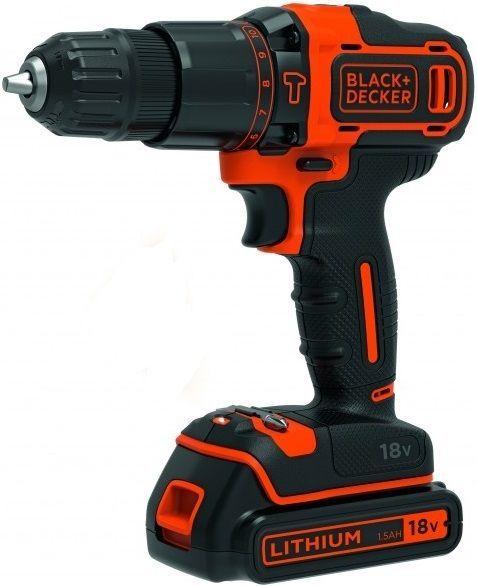 Black&Decker BDCHD18, AKU 18V/1,5AH