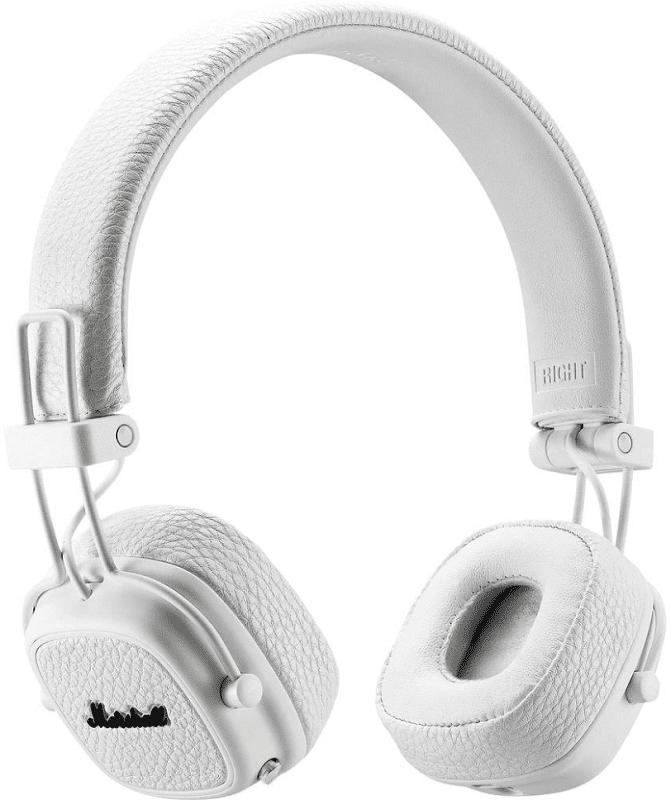 Marshall Major III Bluetooth bílá