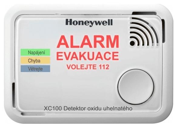 Honeywell XC100-CSSK-A, detektor oxidu uhelnatého