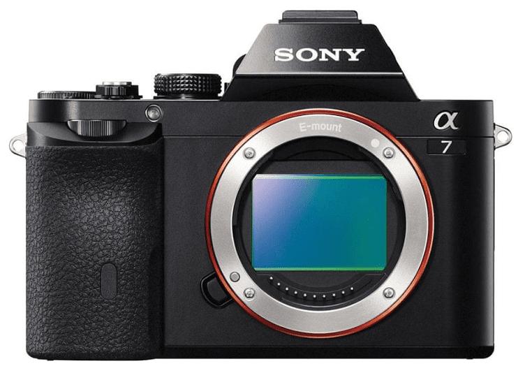 Sony Alpha A7 tělo černé