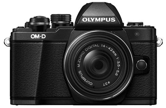 Olympus E-M10 Mark II černá + 14-42 Kit