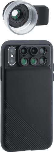ShiftCam 2.0 Pro Lens + makro objektiv Pro Lens pro iPhone X, černá