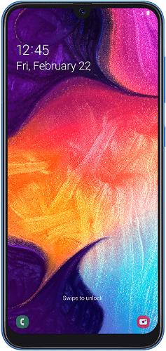 Samsung Galaxy A50 128 GB modrý