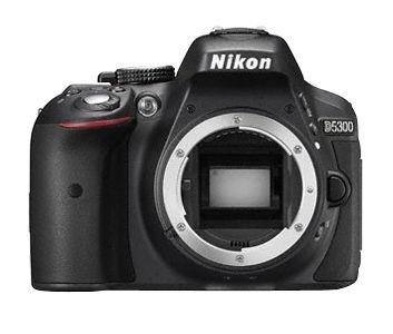 Nikon D5300 (černý) - zrcadlovka