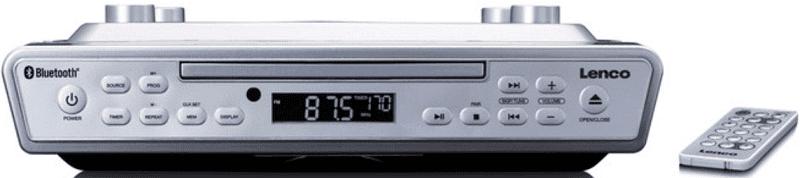 Lenco KCR-150 stříbrné kuchyňské rádio