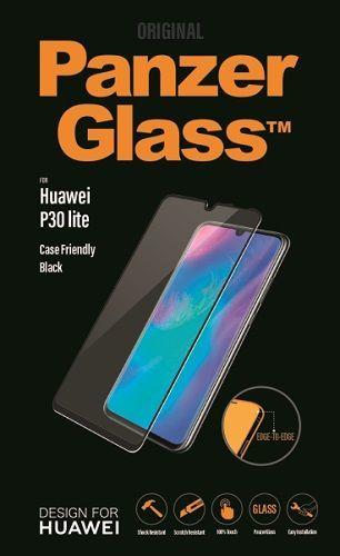Panzerglass tvrzené sklo pro Huawei P30 Lite, černá