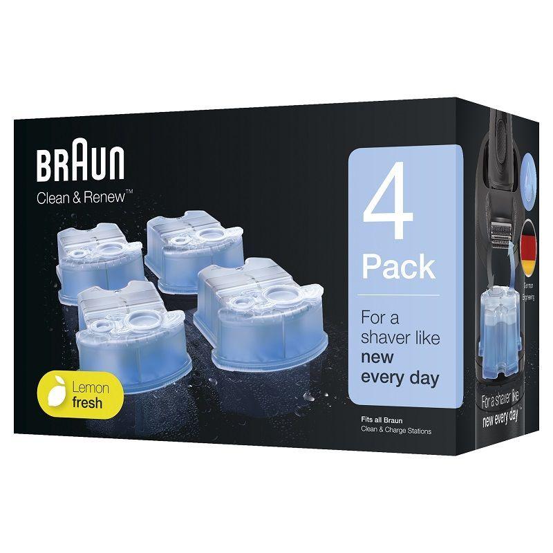 Braun CCR4 Clean&Charge čistící kazeta