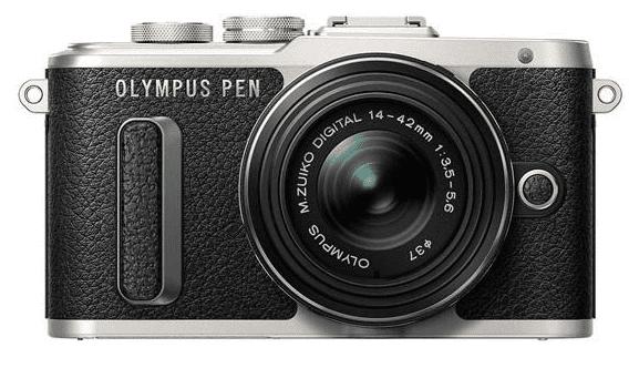 Olympus E-PL8 černá Mega Kit