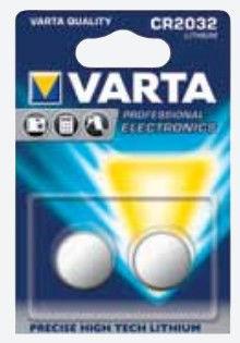 Varta CR2032 Lithium 3,0V 2x