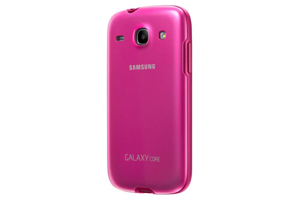 Samsung zadní kryt + EF-PI826BP pro Galaxy Core Duos