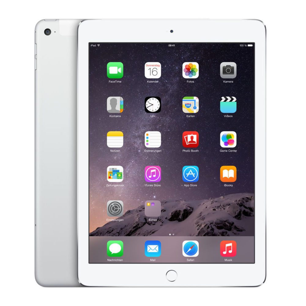 Apple iPad Air 2 128 GB WiFi + Cellular (stříbrný)