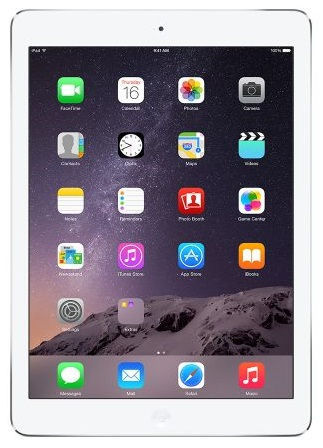 Apple iPad Air Wi-Fi Cellular 16GB (stříbrný), MD794FD/B