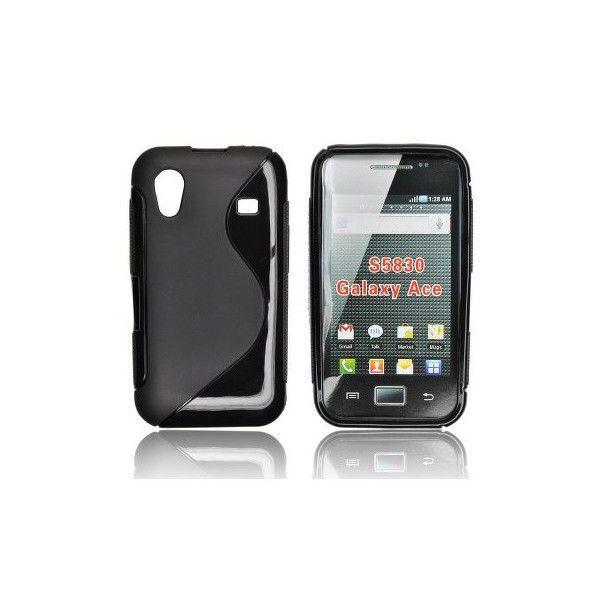 PT zadní obal pro Samsung S5830, černý