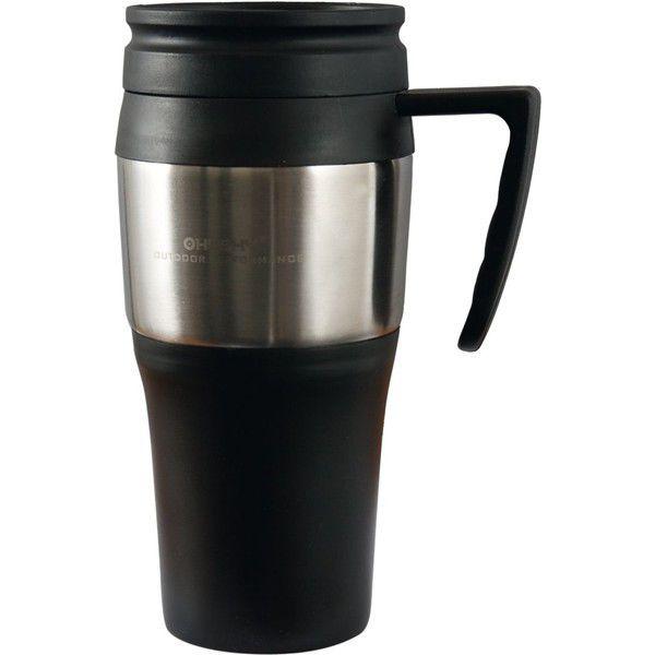 HUSKY Thermo Mug 450 Černá, hrnek