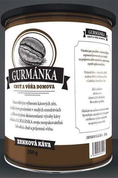 Gurmánka zrnková káva (250g)
