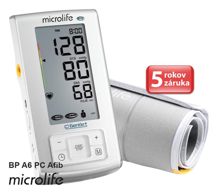 Microlife BP A6 PC Afib - tlakoměr