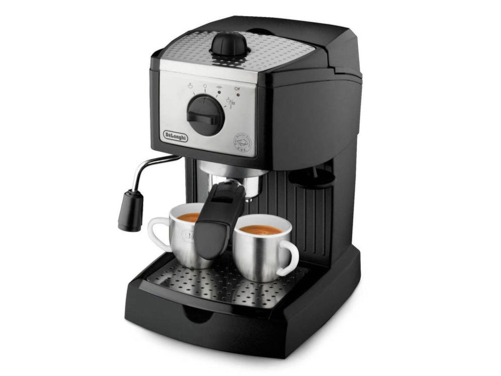 DELONGHI EC 156.B (černá) - Pákové espresso