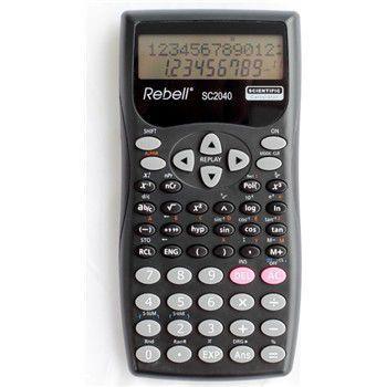Rebell SC2040 vědecká kalkulačka, černá