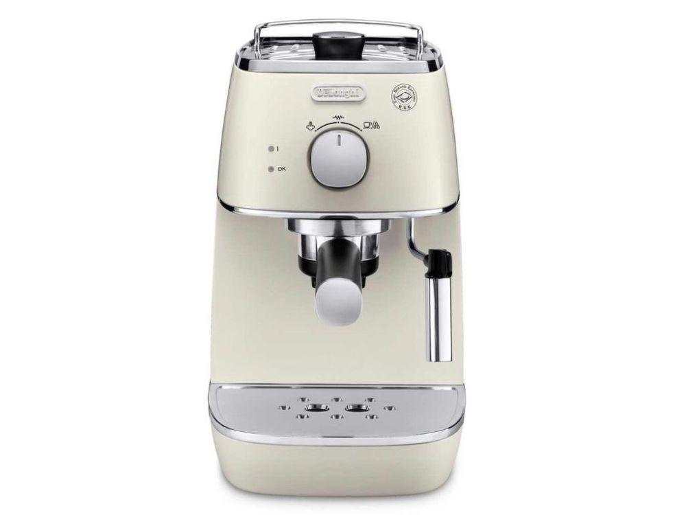 DELONGHI ECI 341.W Distinta (bílá) - Pákové espresso