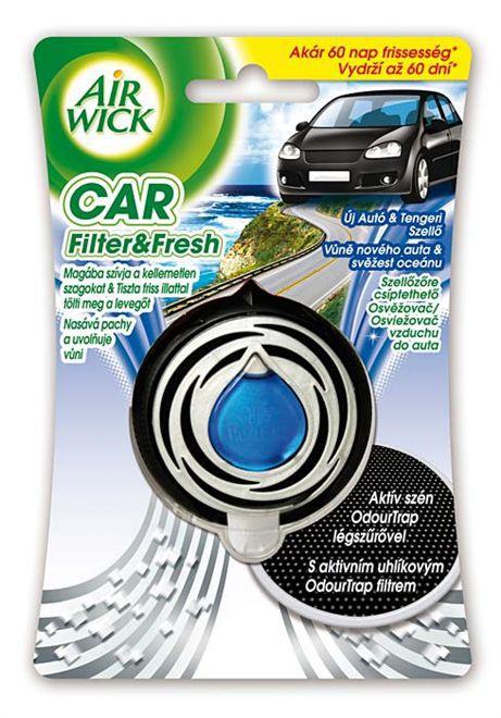 Airwick CAR Vůně nového auta a svěžest oceánu 3ml