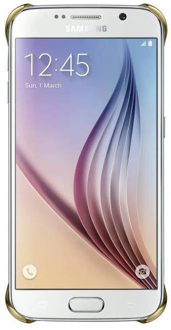 Samsung Clear kryt EF-QG920BF pro Galaxy S6 (zlatý)