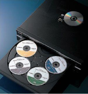 Přehrávač - YAMAHA CD-C600 BL