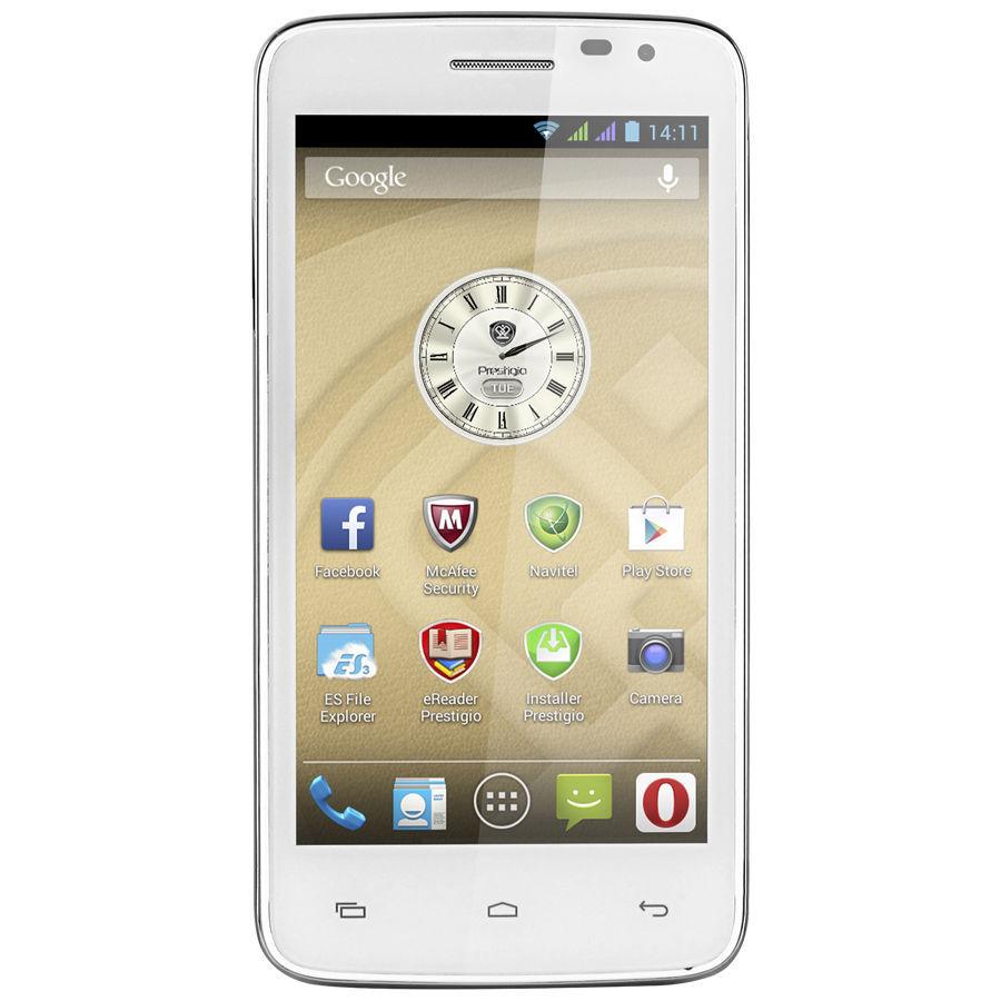 Prestigio MultiPhone PAP3501 Duo (bílý)