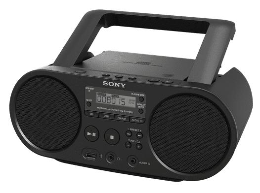 Hudba všade, kde si ju chcete vychutnať - Sony ZS-PS50