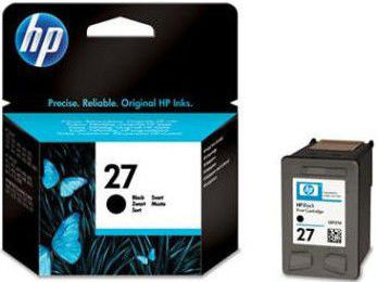HP C8727AE No.27 black - atrament
