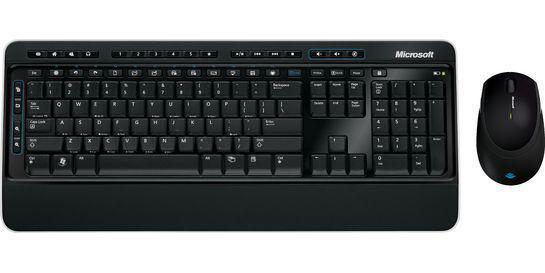 Microsoft Wireless Desktop 3000 - bezdrátový set klávesnice a myši
